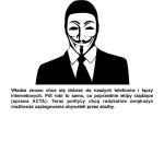 plakat pikieta przeciwko inwigilacji katowice
